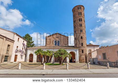 Basilica di Sant Apollinare Nuovo - 6th century church Ravenna Italy