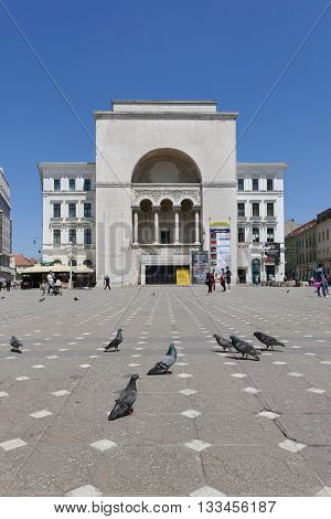 Timisoara, Romania Theater And Opera Building