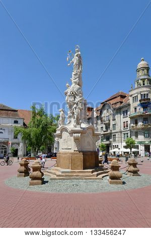 Liberty Square, Timisoara Romania