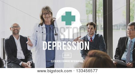 Depression Clinic Disorder Depression Concept