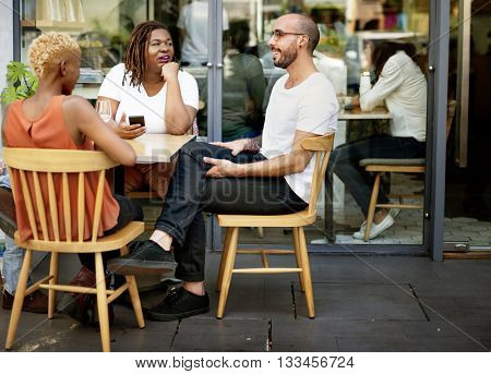 Bistro Cafe Coffee Contemporary Relaxing Resting Concept