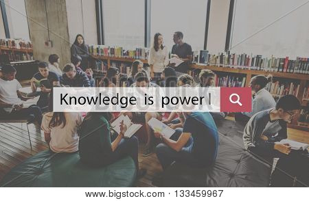 Knowledge Education Ideas Power Skills Success Concept