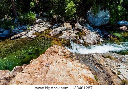 Middle Fork Kaweah River, Sequoia National Park, California