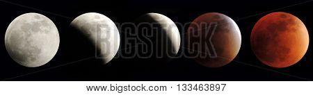 Eclipse Super Luna, septiembre 27 año 2015
