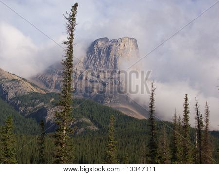 Mountain near Jasper