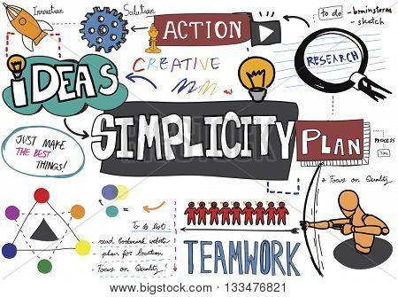 Simplicity Minimal Normal Contemporary Simpleness Concept
