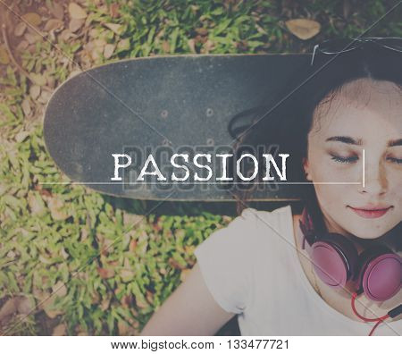 Passion Anger Attraction Desire Like Love Spirit Concept