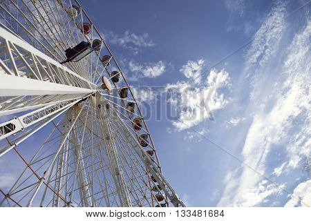 Big Wheel In A Fairground