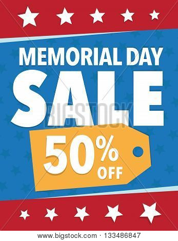 Memorial Sale - Save up to sign with 50%