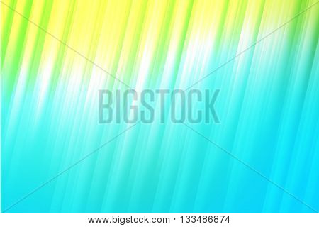 Green blue and white light rays colors used to create abstract background