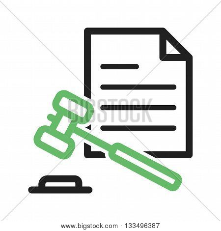 Law, judge, court icon vector image. Can also be used for elections. Suitable for use on web apps, mobile apps and print media.