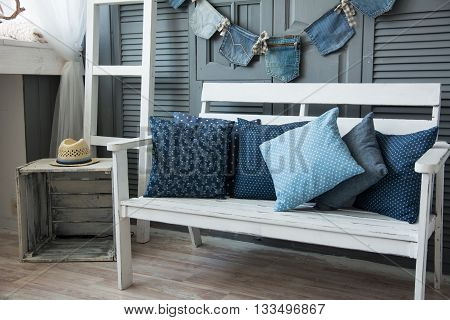Interior Wooden Walls Painted