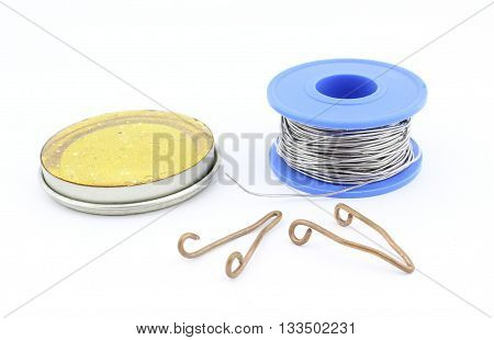Soldering tools and  accesories for electrical repair