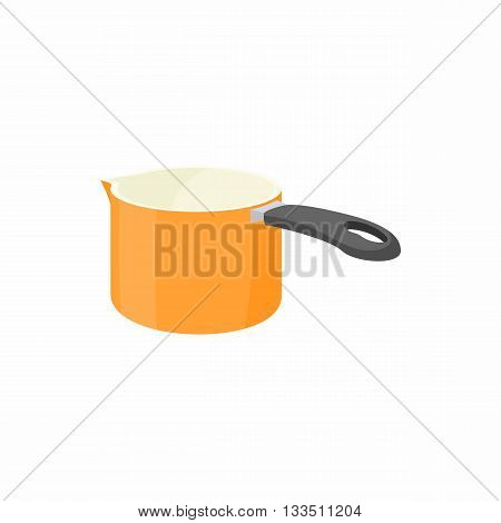 Large ladle icon in cartoon style on a white background