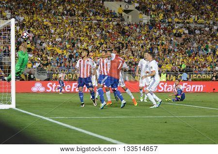 Goalkeeper David Ospina Defending