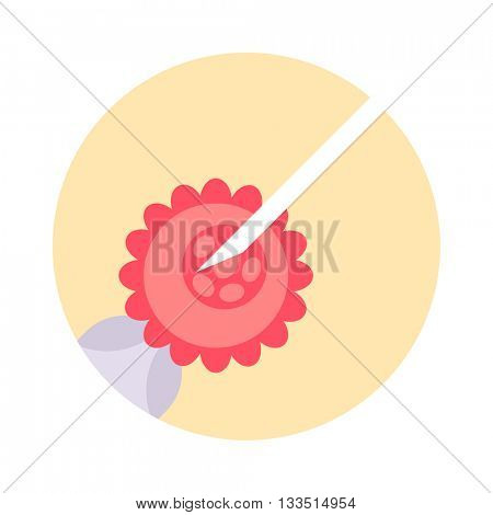 Artificial insemination vector illustration.