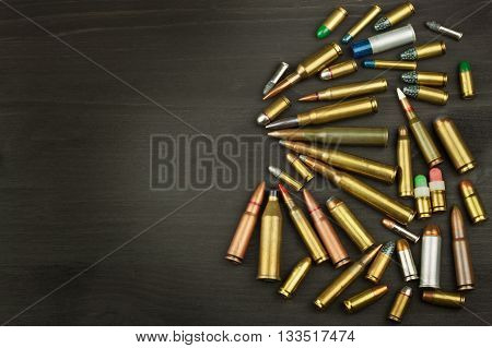 New types of ammunition. Bullets of different calibers and types. The right to own a gun. Sales of weapons and ammunition.