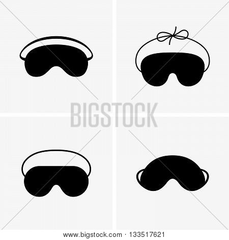 Set of six blindfolds ( shade pictures )