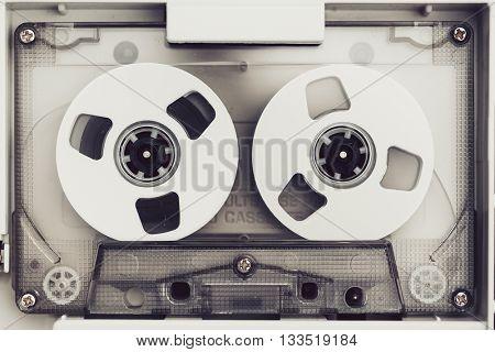vintage audio tape compact cassette