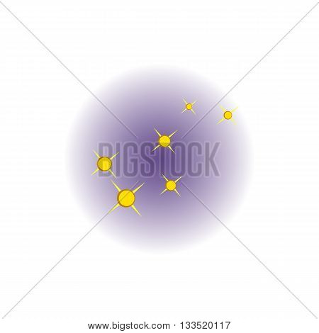 The North Star icon in cartoon style on a white background
