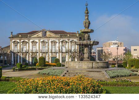 Fountain Of Campo Das Hortas In Braga