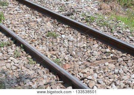 railway tracks It is classical railway .