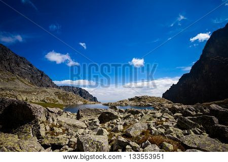 Slovakian Spiski Lakes Tatry Mountains