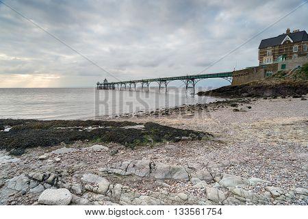 Gloomy Seaside Pier