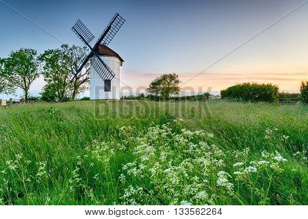 Sunrise At Ashton Windmill