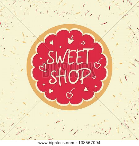 Logo Template For Confectionery, Bakery. Candy Store. Candy And