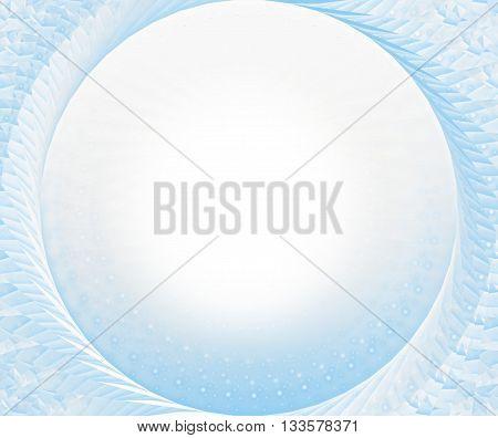 winter ice frozen design light blue graphic design illustration