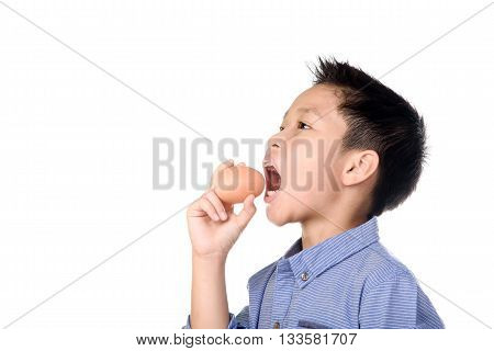 Kid Hand And Egg