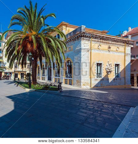 Corfu City Hall (previously: Nobile Teatro Di San Giacomo Di Corfu), Greece