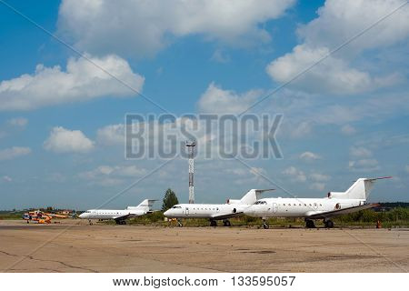 Airplanes In Airport