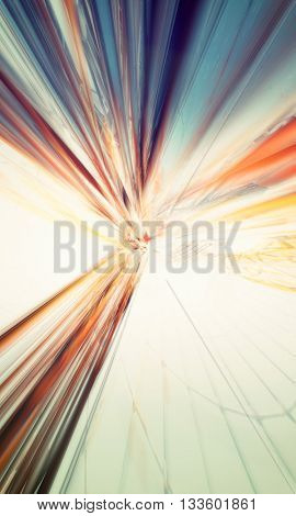 3D rendering abstract background design