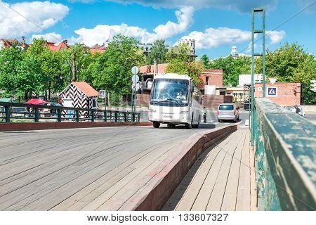 Touristic Bus In St.petersburg