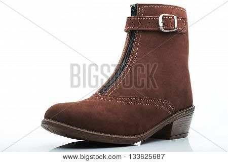 Brown Woman Boot