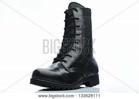 Leather Man Boot