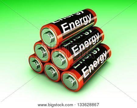 Battery Pyramid