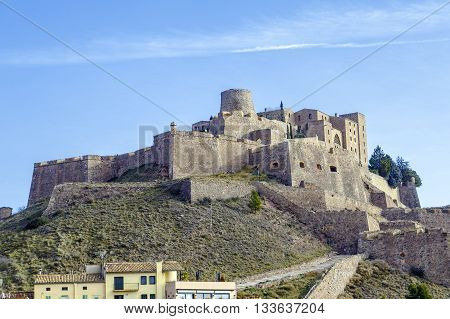Cardona castle is a famous medieval castle in Catalonia. Now it is a famous state run hotel or 'parador'.