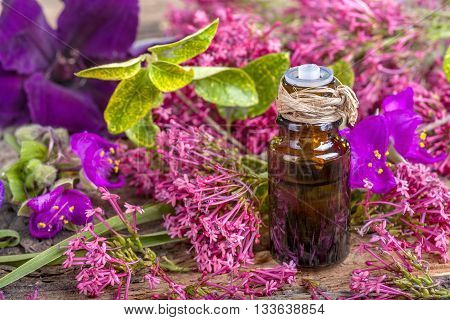 Essential oil of meadow herbs and flowers