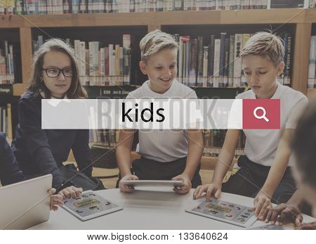 Children Kids Adolescence Childhood Offspring Youth Concept