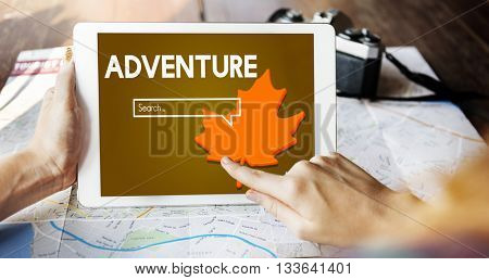 Adventure Exploration Journey Lifestyle Wanderlust Concept
