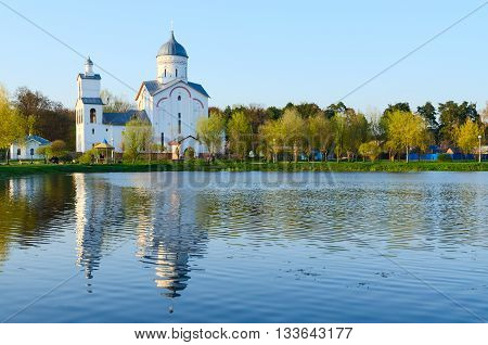 Church of St. Alexander Nevsky in the recreation area