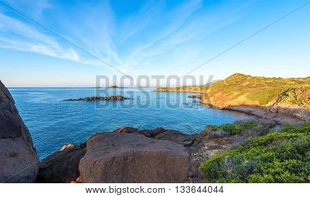 Wide Angle Wild Nature Beach Panoramic Landscape