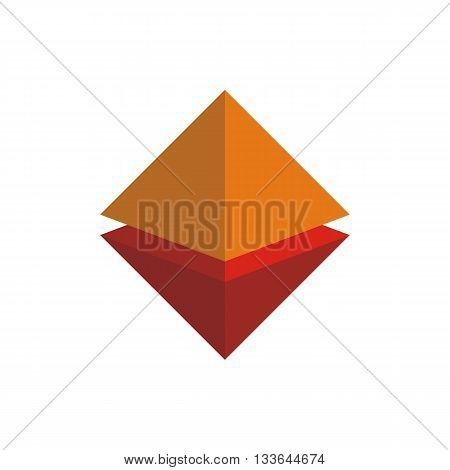 logo abstract bulding architecture design graphic vector