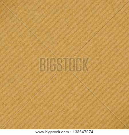 Old brown striped paper background. Striped pattern