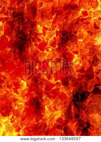art red fire lava pattern illustration background