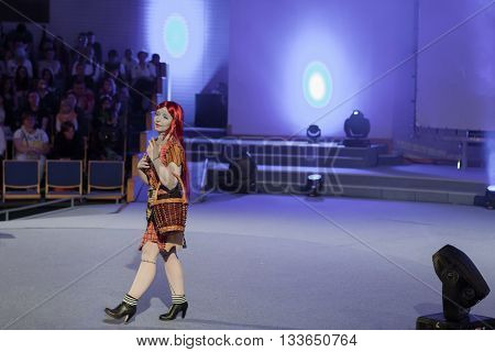 Cosplayer Dressed As Character Sally Finklestein