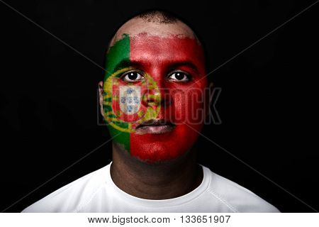 Man With Portugal Flag